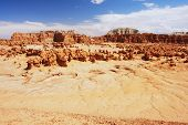 picture of goblin  - View of the Goblin Valley - JPG