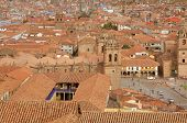 The historical center of Cuzco.