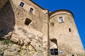 Swabian Castle of Oriolo. Calabria. Southern Italy.