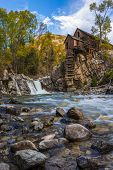 Autumn In Crystal Mill Colorado Landscape