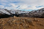 View from Loveland Pass, Colorado