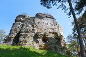 medieval ruins of Valecov castle, Czech republic