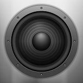 Sound Speaker Background