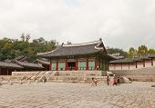 Sungjeongjeon Hall Of Gyeonghui Palace (1618) In Seoul, Korea