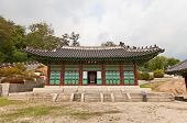 Taeryeongjeon Hall Of Gyeonghuigung Palace (1617) In Seoul, Korea