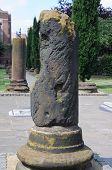 Roman ruins, Chester.