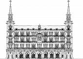 Madrid, house of Phillip III in Plaza Mayor, Sketch collection