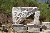 Godess Nike in Ephesus, Izmir, Turkey