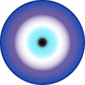 amulet in the form of eye