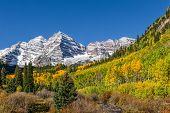 Maroon Bells Fall Landscape