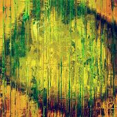 Retro texture. With different color patterns: yellow; brown; green; orange