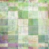 Grunge texture, Vintage background. With different color patterns: yellow; green; gray; violet