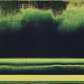 Old texture with delicate abstract pattern as grunge background. With different color patterns: yellow; brown; green