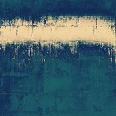 Aged grunge texture. With different color patterns: gray; blue; yellow