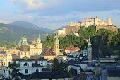 Salzburg Overview And Hohensalzburg Fortress