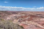 Route 66: Tawa Point, Painted Desert, Petrified Forest National Park, AZ