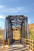Railroad Bridge Over Iron Horse Trailhead