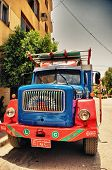 Colored Truck