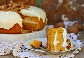 Carrot Cream Pie From Cottage Cheese