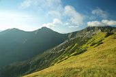 Polish Tatra mountains at dawn