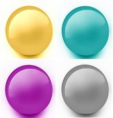 Crystal Web Buttons