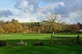 The Sussex Weald landscape.