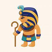 pic of pharaoh  - Pharaoh Theme Elements - JPG