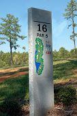 16th Hole Sign