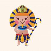 picture of pharaoh  - Pharaoh Theme Elements Vector - JPG
