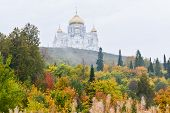 Постер, плакат: Belogorsk St Nicholas Monastery