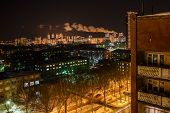 pic of perm  - The plant at night - JPG