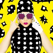 foto of monsters  - Polka Dots Monster Girl - JPG