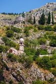 picture of chapels  - Stone Chapel of Our Lady of Salvation in Kotor Montenegro - JPG