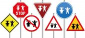 ������, ������: Road Signs Children