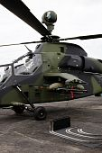 Military tiger helicopter