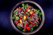 pic of scallion  - Thai Food  - JPG