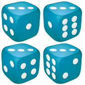 Dice with 3