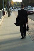Man With Business Bag