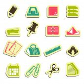 office accessories icons