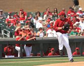 Arizona Diamondbacks Left Handed Pitcher Joe Saunders