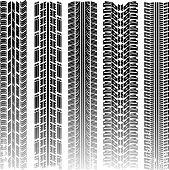Pistas de neumático