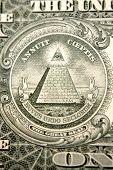 U.S. banknote detail