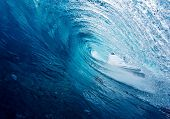 Blue Tube, Epic Surfing Wave