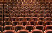 Assentos do teatro