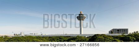The control tower of Changi