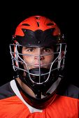 pic of lax  - Lacrosse Player - JPG