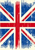 UK dirty flag. A UK flag with a texture for you.