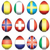 European Easter Eggs