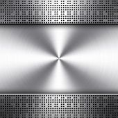 chip pattern metal background