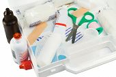 foto of first aid  - First aid kit - JPG